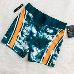 NWT NIKE Court Power Women's Tiedye Tennis Shorts